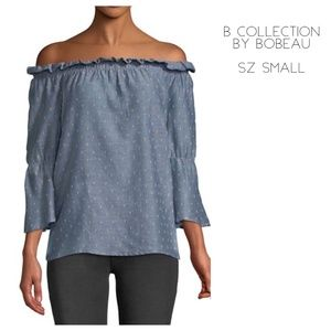 NWT Bobeau Martha Off-the Shoulder Top - Sz. Small